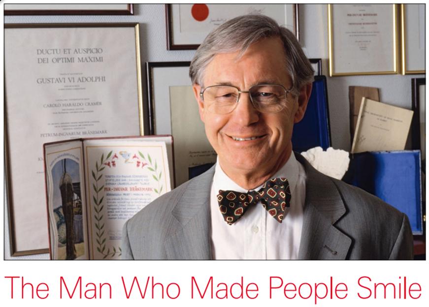 Több millió ember életét változtatták meg Per-Ingvar Brånemark professzor osseointegrált implantátumai